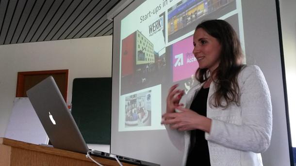Vortrag des MedienNetzwerk Bayern